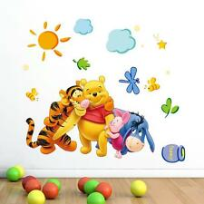 Animal Cartoon Vinyl Wall Stickers For Kids Rooms Boys Girl Home Decoration FB