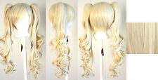 23'' Curly Pig Tails + Base Flaxen Blonde Cosplay Wig NEW