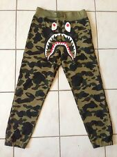 Bape Shark 1st camo Windstopper Goretex sweatpants Size M a bathing ape