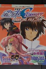 "JAPAN Mobile Suit Gundam SEED Destiny Official File ""Characters 04"""