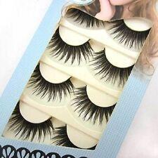 HOT 5 pairs HANDMADE THICK LONG PARTY False eyelashes BEAUTY eye lashes