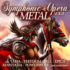 CD Symphonic and Opera Metal Volume 1 von Various Artists  2CDs