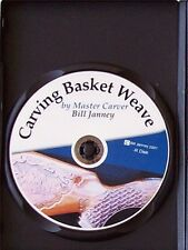 Carving Basket Weave DVD/gun stocks/gunsmithing/carving