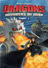 DRAGONS DEFENDERS OF BERK PART 1 (DVD, 2014, 2-Disc Set) NEW