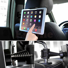 Universal In Car Headrest Back Seat Mount Cradle Holder  For Ipad Samsung Tablet