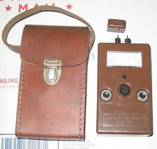 DELMHORST MOISTURE TESTER WITH LEATHER CASE