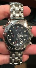 OMEGA SEAMASTER Chronograph 42MM AUTOMATIC 2598.80.00 Blue Wave Dial Diver