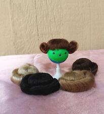 """Doll Wig - W206 Tiny Wig size 3""""(head): CHOICE of  color."""