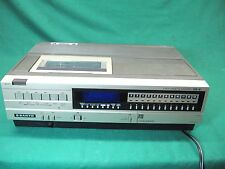 Sanyo Betamax 3900 Beta recorder player. Needs repair. New Belts Installed.