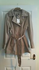 Ladies lightweight jacket mac size 14 bnwt trench coat