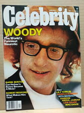 Celebrity Magazine 1977 January Woody Allen Barbi Benton Robert Redford NL