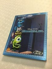 Monsters, Inc. Blu-ray/DVD 3-Disc Box Set w/Slip Cover NEW SEALED Disney PIXAR