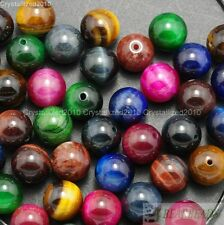 Wholesale Natural Gemstone Round Spacer Beads 6mm Lapis Crystal Quartz Turquoise
