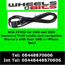 KCA-IP202 per iPod iPhone adattatore Kenwood DNX5210BT , DNX521DAB, DNX5280BT