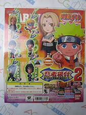 Anime Naruto NInja Strap Part 2 Gashapon Toy Machine Paper Card Bandai Japan