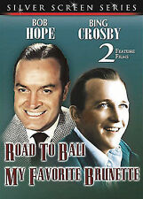 Bob Hope Bing Crosby Double Feature My Favorite Brunette Road to Bali DVD 2003