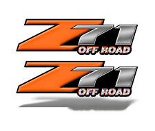 Z71 OFFROAD Graphic Decal Chevy Silverado GMC Sierra ORANGE Truck Bed Mk003z71OR