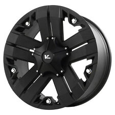 4-NEW V Rock VR3 Recon 17X9 6x135 0 Matte Black Wheels Rims