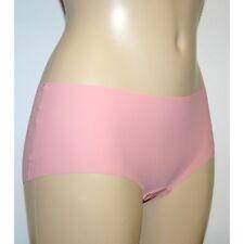 M & S Size 12 NO VPL Laser Cut Low Rise Shorts panties Briefs Pink RRP £6.00