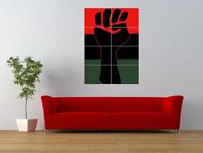 PROPAGANDA BLACK POWER AFRICAN AMERICAN GIANT ART PRINT PANEL POSTER NOR0257
