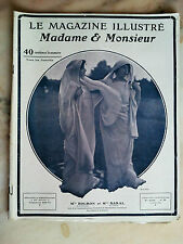 le magasine illustré madame monsieur n°59 de 1906 mode