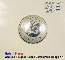 Peugeot 1007 106 107 206 207 301 306 307 308 309 Roland Garros Paris Badge Logo