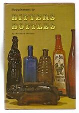 SUPPLEMENT TO BITTERS BOTTLES 1968 RICHARD WATSON 1st EDITION W/DJ ILLUSTRATED