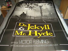 AFFICHE   TRACY / BERGMAN / DR JEKYLL ET MR HYDE