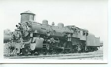 6E935 RP 1955 C&NW NORTH WESTERN RAILWAY ENGINE #596 KENOSHA WI