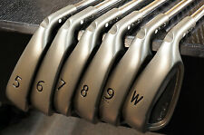 "Ping Golf G25 Iron Set 5-PW 3* Up White Dot +1"" LONG Regular Flex Steel NEW G 25"