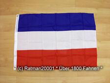 Fahnen Flagge Serbien und Montenegro - 60 x 90 cm