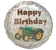 """John Deere"" Green Tractor Farm Barnyard Birthday Party Balloon"