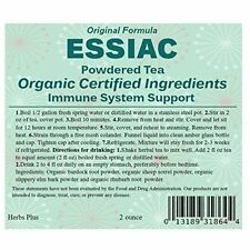 Essiac Tea Powder - Organic & Kosher Certified Ingredients  2 oz