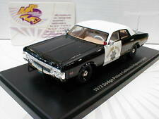NEO 46726 # Dodge Polara California Highway Patrol Bj. 1972 schwarz/weiß  1:43