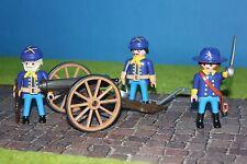 Playmobil Soldaten  mit Kanone  ACW Nordstaaten Südstaaten