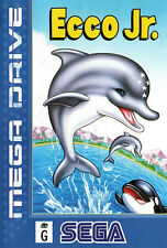 # Sega Mega Drive-Ecco jr. - top/original MD juego #