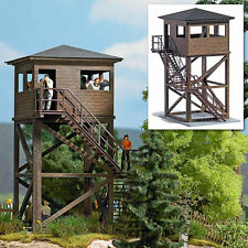 HO scale Busch 1585  Military Guard / Forest Observation Tower Building KIT