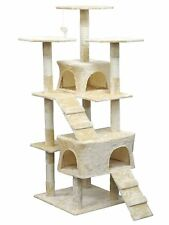 Homessity Cat Tree House Condo Bed Scratching Post Furniture HC-001