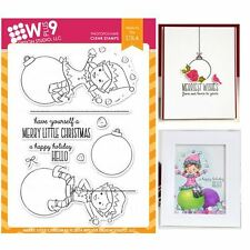 Wplus9 Design Stamps - Merry Little Christmas