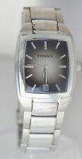Fossil Men's Arkitekt FS2991 Steel Watch Date Square Charcoal Dial