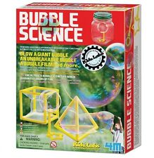 4M Kidz Labs Bubble Science Kit Ages 5+ Party Activity Outdoor Activity