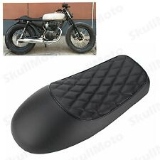 Cafe Racer Vintage Saddle Hump Custom Seat For Honda CB350 CB450 CB750 Black