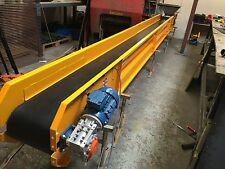 Conveyor System designed for the basement excavation, 7 meters long