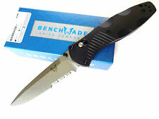 BENCHMADE KNIFE 580S BARRAGE 154CM Drop-Point Folder - AXIS ASSIST