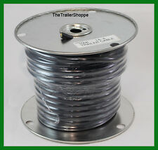 Trailer Light Wiring 14-4 14 Gauge 4 Wire Jacketed Black Flexible -100 ft. Roll