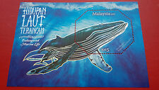 2015 Malaysia MS - Endangered Marine Life ( Silver Foil )