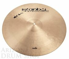 Istanbul Agop 22 Mel Lewis Signature Ride Cymbal 2,422 grams - NEW (ML22)