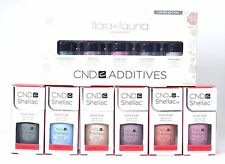 CND Shellac Gel Polish Flora And Fauna Collection + Additives