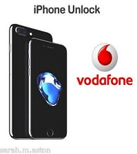 VODAFONE UK IPHONE 4 4S 5 5S 5C SE 6 6+ 6S 6S+ PLUS OFFICIAL FACTORY UNLOCKING