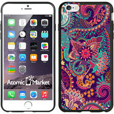 Paisley Flower Print For Iphone 6 Plus 5.5 Inch Case Cover By Atomic Market